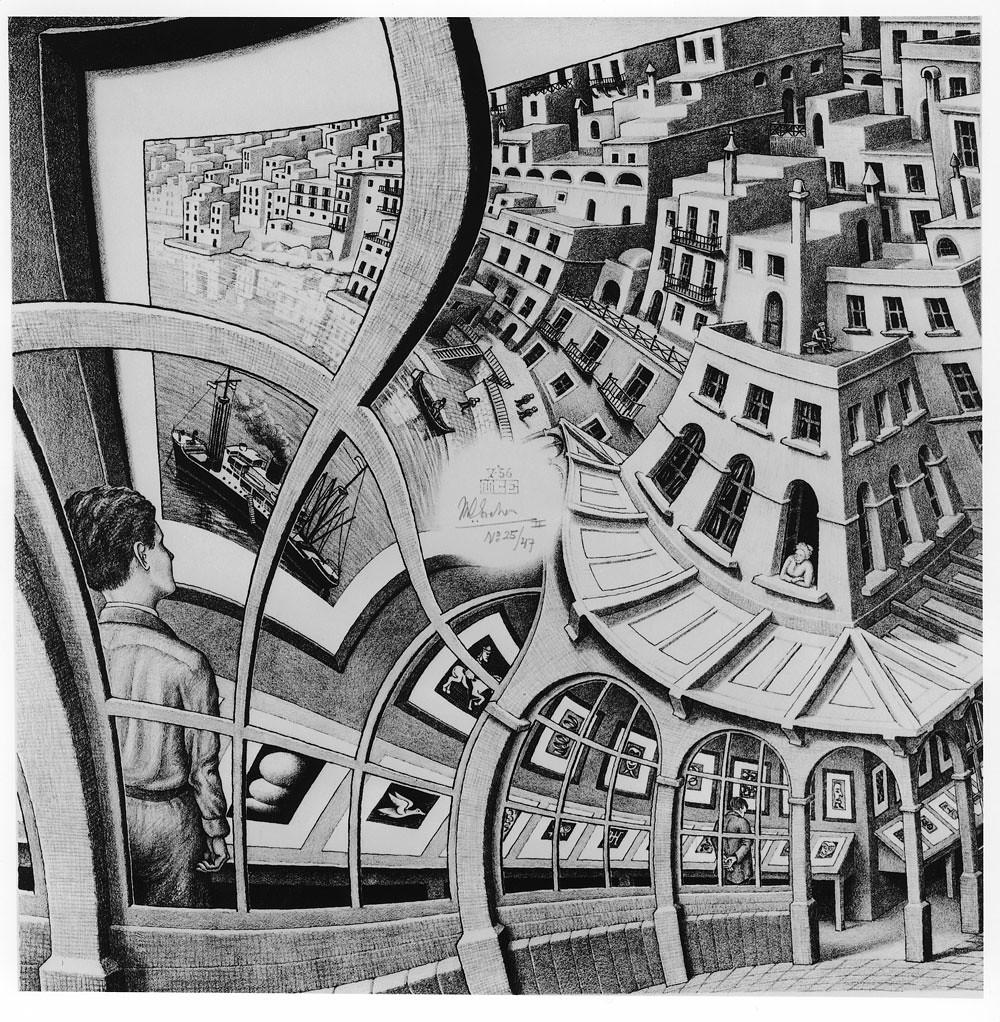 Print Gallery by M. C. Escher